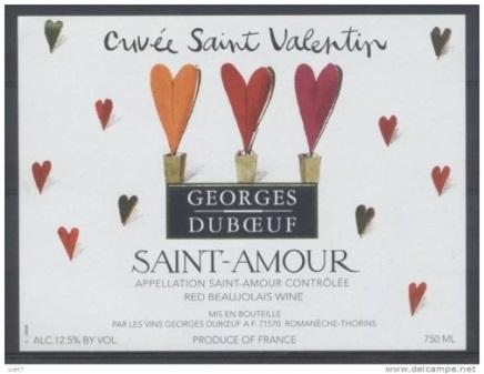 Saint Amour etykieta 1