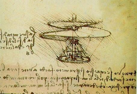 Leonardo da Vinci projekt helikoptera