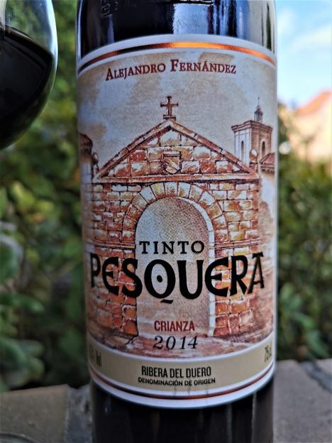 Pesquera wino etykieta